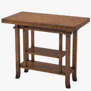 Side Table 1908 3d model