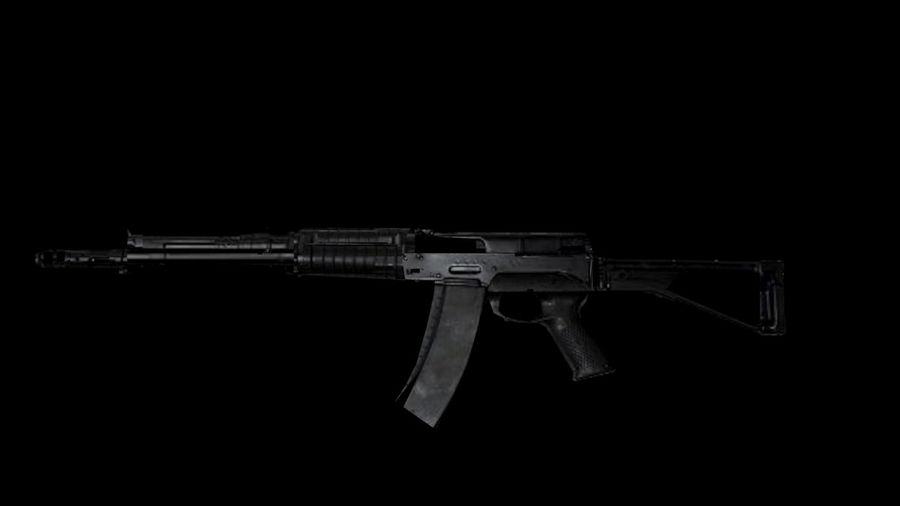 Assault Rifles Weapons Pack royalty-free 3d model - Preview no. 4