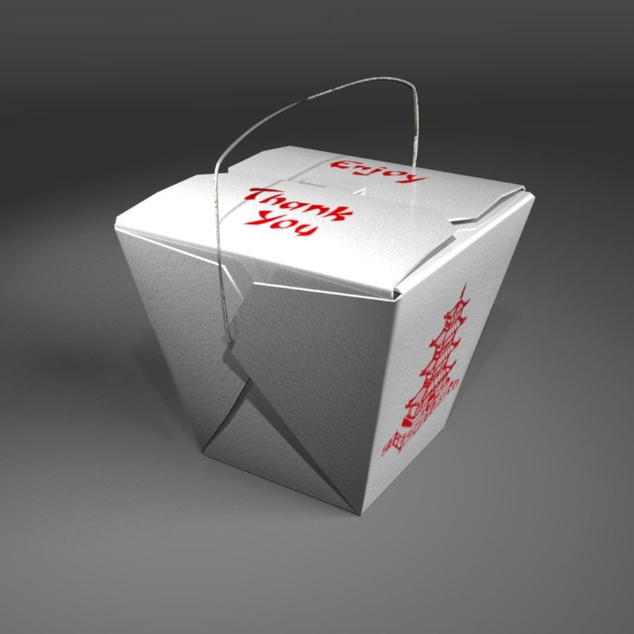 Take Out royalty-free 3d model - Preview no. 5