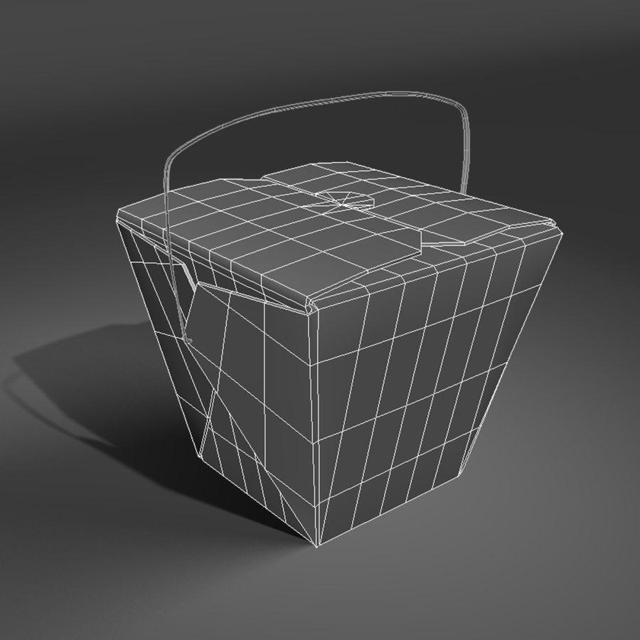 Take Out royalty-free 3d model - Preview no. 2