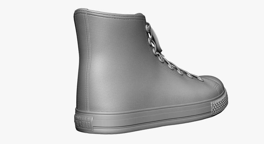 Shoes royalty-free 3d model - Preview no. 11