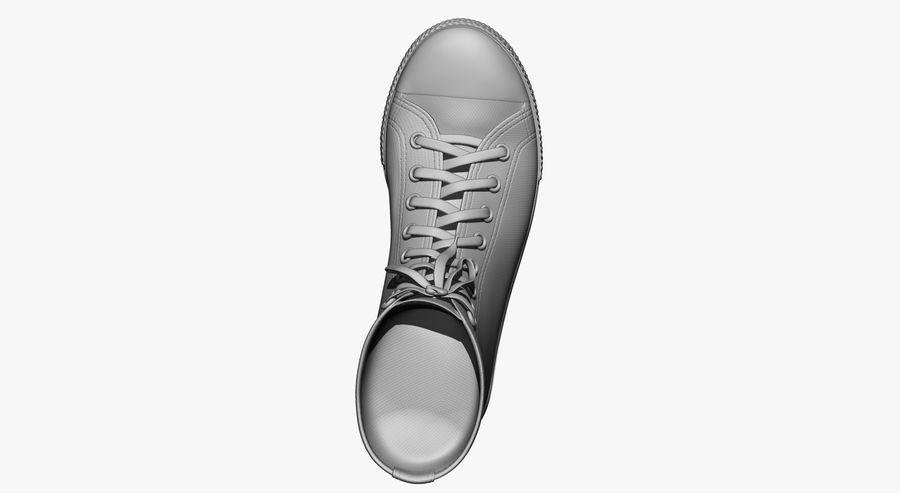 Shoes royalty-free 3d model - Preview no. 17