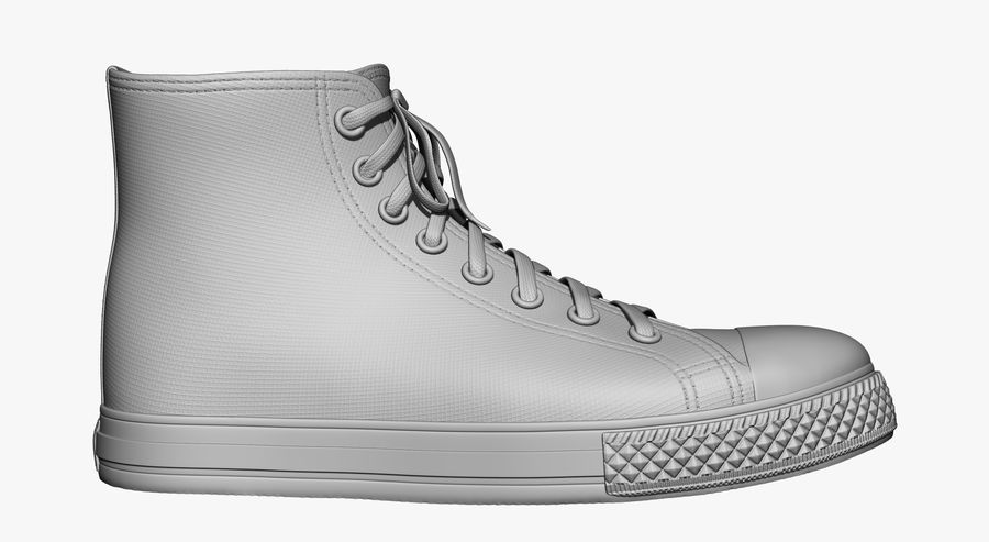 Scarpe royalty-free 3d model - Preview no. 2