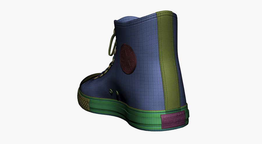 Shoes royalty-free 3d model - Preview no. 22