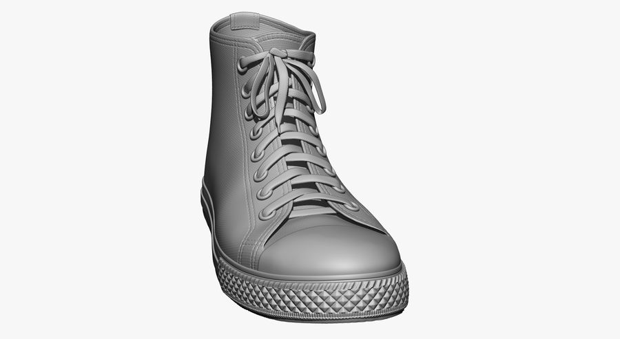 Scarpe royalty-free 3d model - Preview no. 3