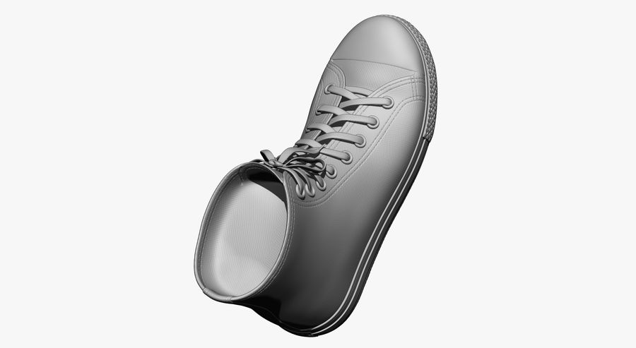Shoes royalty-free 3d model - Preview no. 16