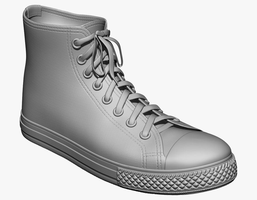 Scarpe royalty-free 3d model - Preview no. 1