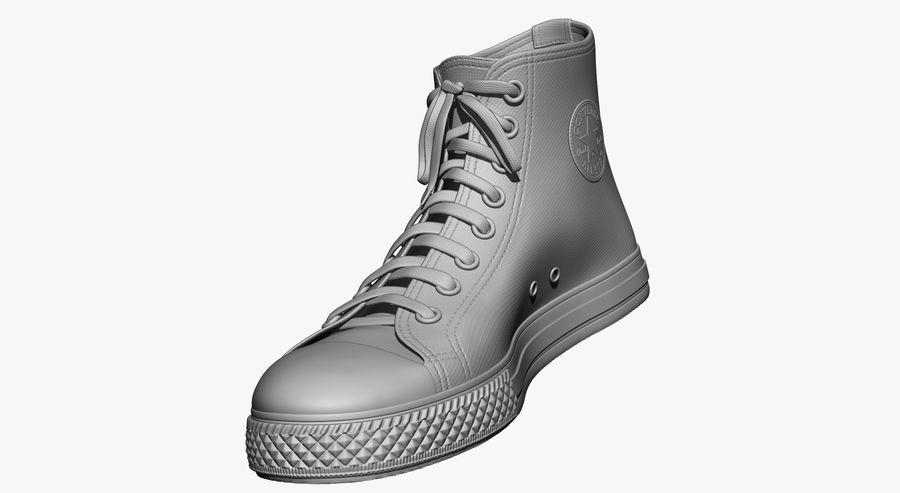 Shoes royalty-free 3d model - Preview no. 4