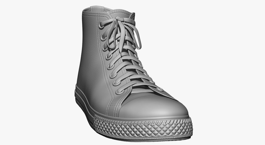 Shoes royalty-free 3d model - Preview no. 19