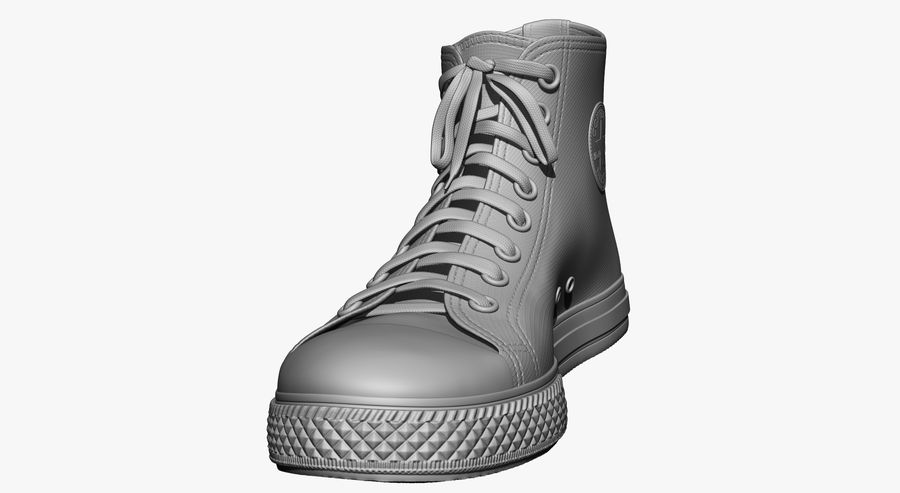 Shoes royalty-free 3d model - Preview no. 20