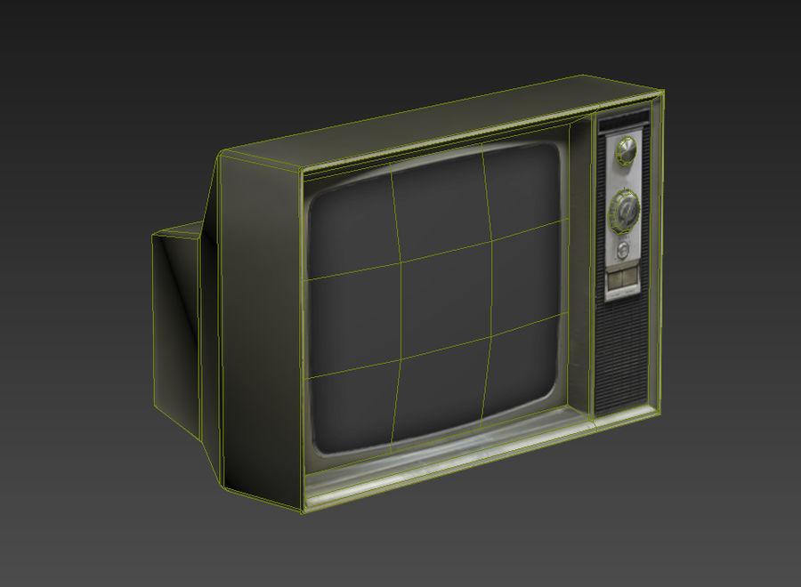 老电视游戏准备好了 royalty-free 3d model - Preview no. 6