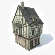 Medieval House 1 3d model