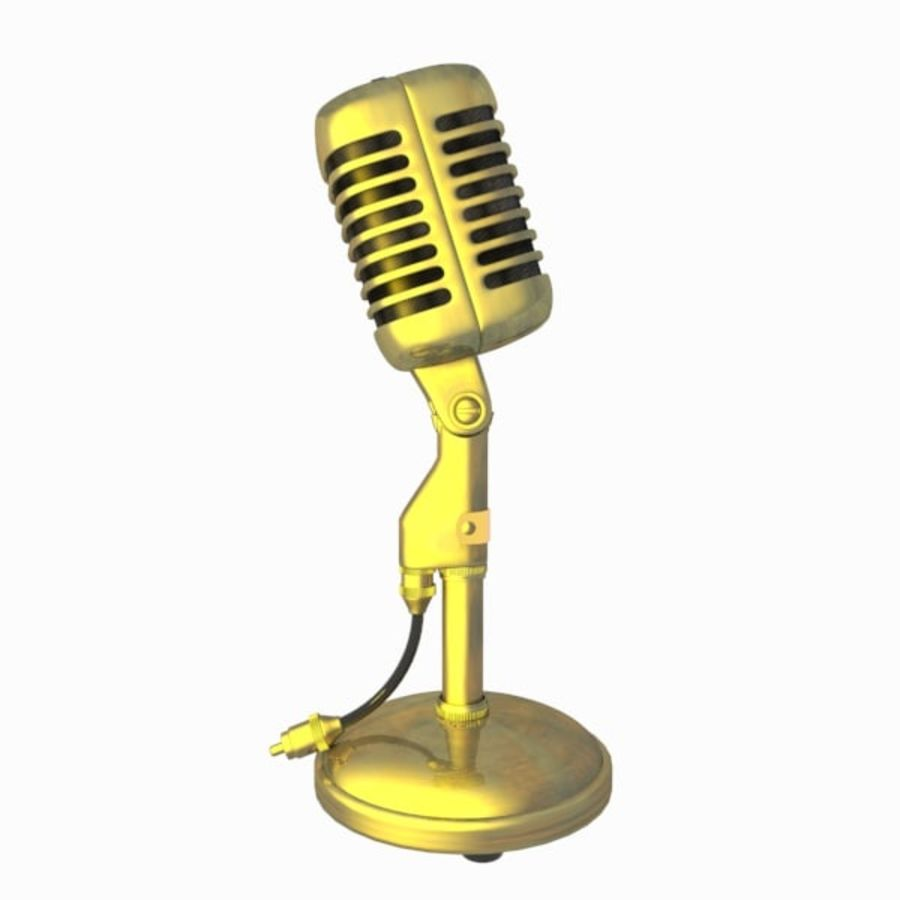 Microphone royalty-free 3d model - Preview no. 9