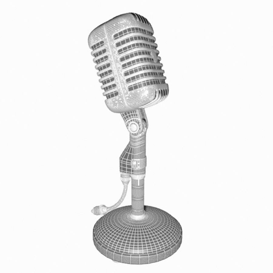 Microphone royalty-free 3d model - Preview no. 15