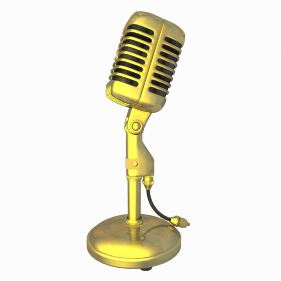 Microphone royalty-free 3d model - Preview no. 7