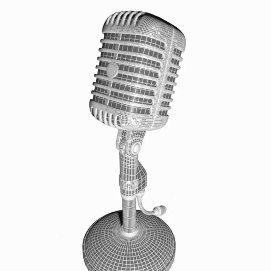 Microphone royalty-free 3d model - Preview no. 13