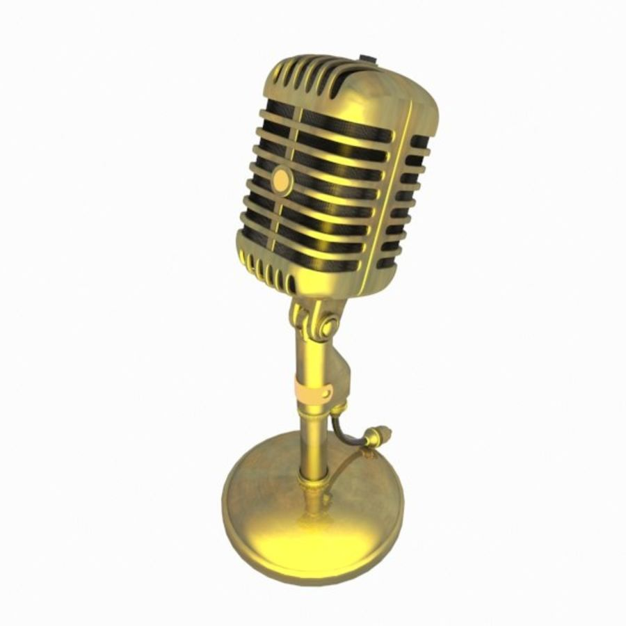 Microphone royalty-free 3d model - Preview no. 6