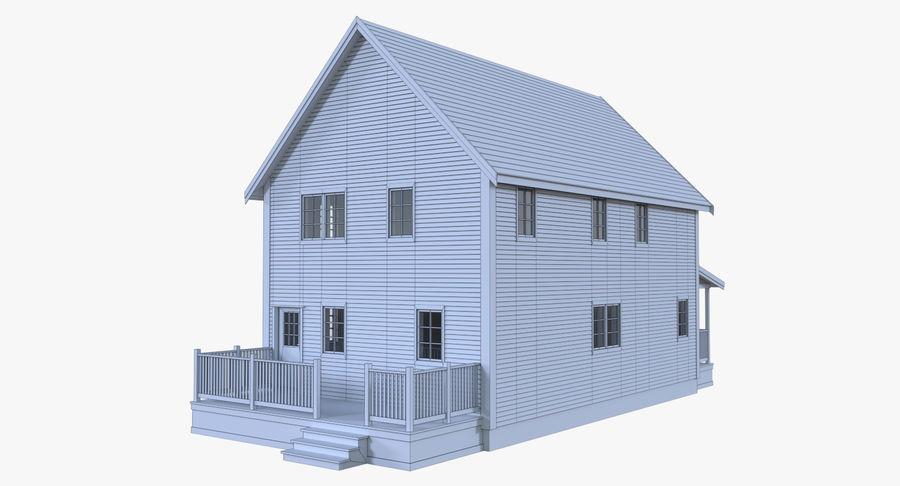 Haus sechs mit interieur 3d modell $19 .obj .fbx .dae .blend free3d