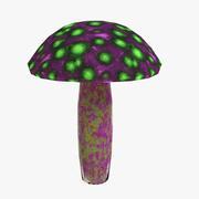 Alien Mushroom 3d model