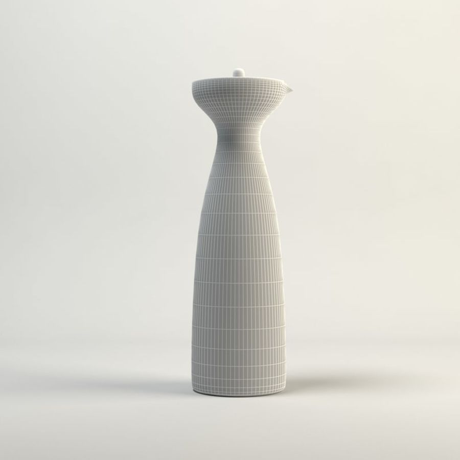 Decanters & Carafes Alfredo Glass Carafe royalty-free 3d model - Preview no. 2