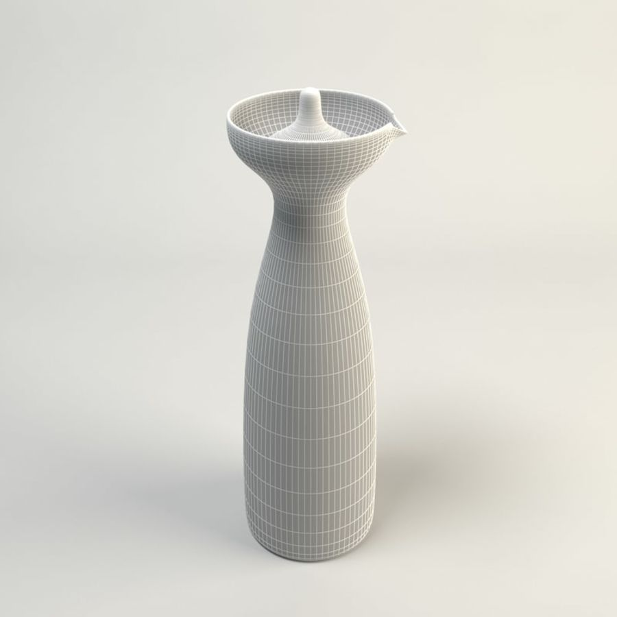 Decanters & Carafes Alfredo Glass Carafe royalty-free 3d model - Preview no. 4