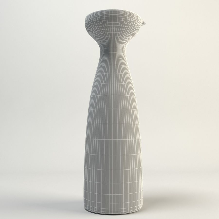 Decanters & Carafes Alfredo Glass Carafe royalty-free 3d model - Preview no. 6