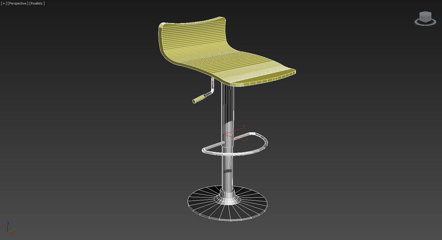 Vespy stool modello 3d $9 .max .dxf .dwg .3ds free3d