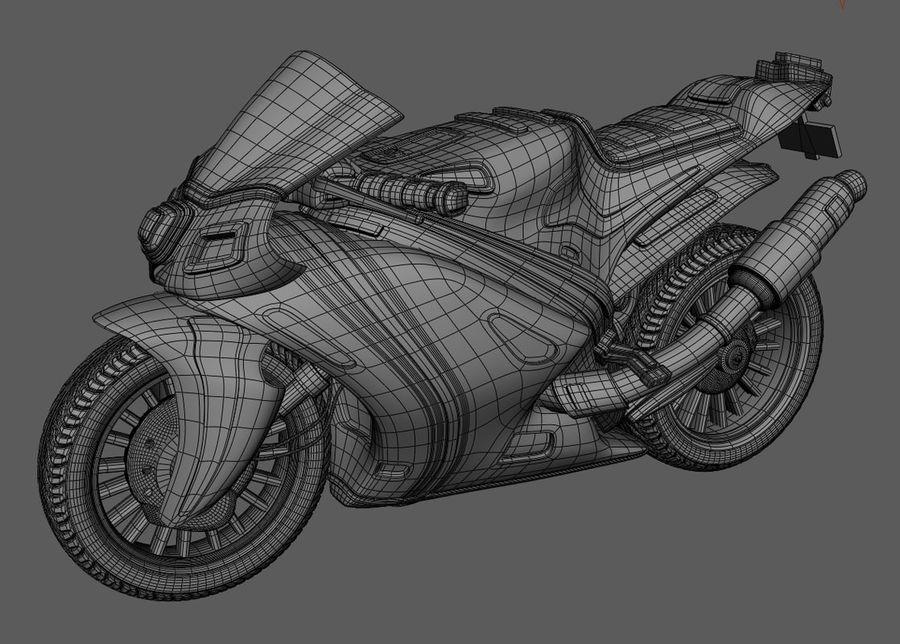 Súper Moto De Dibujos Animados Rr Modelo 3d 25 Max Obj
