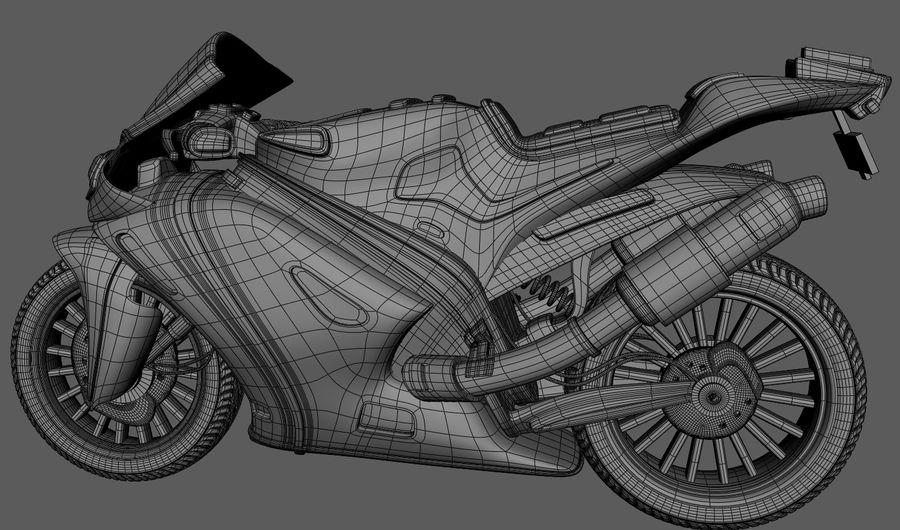 Super MotorBike RR Cartoon 3D Model $25 -  max  obj  fbx  ma - Free3D