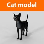 cat model 3d model
