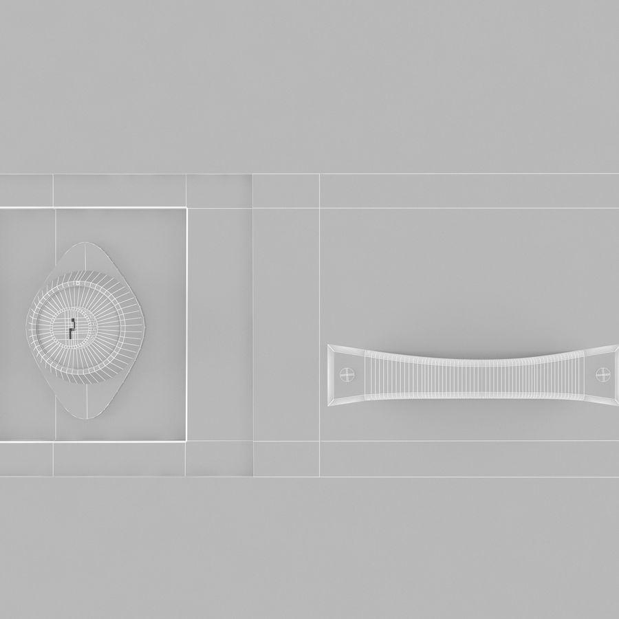 Szafki royalty-free 3d model - Preview no. 7