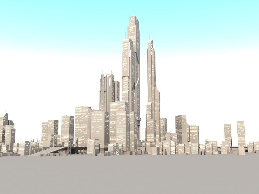 SC_CITY_01 royalty-free 3d model - Preview no. 6