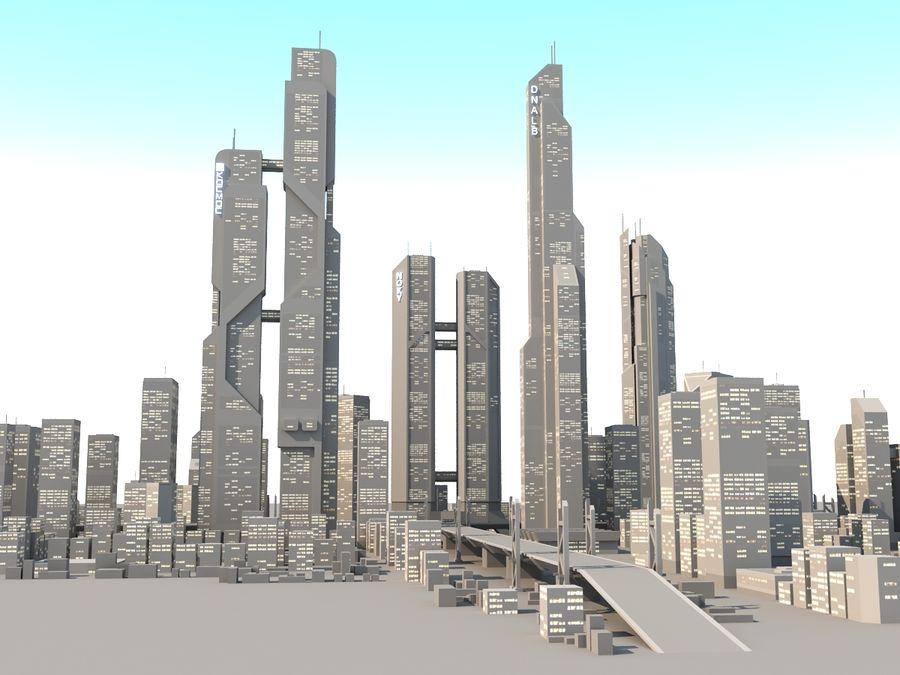 SC_CITY_01 royalty-free 3d model - Preview no. 8