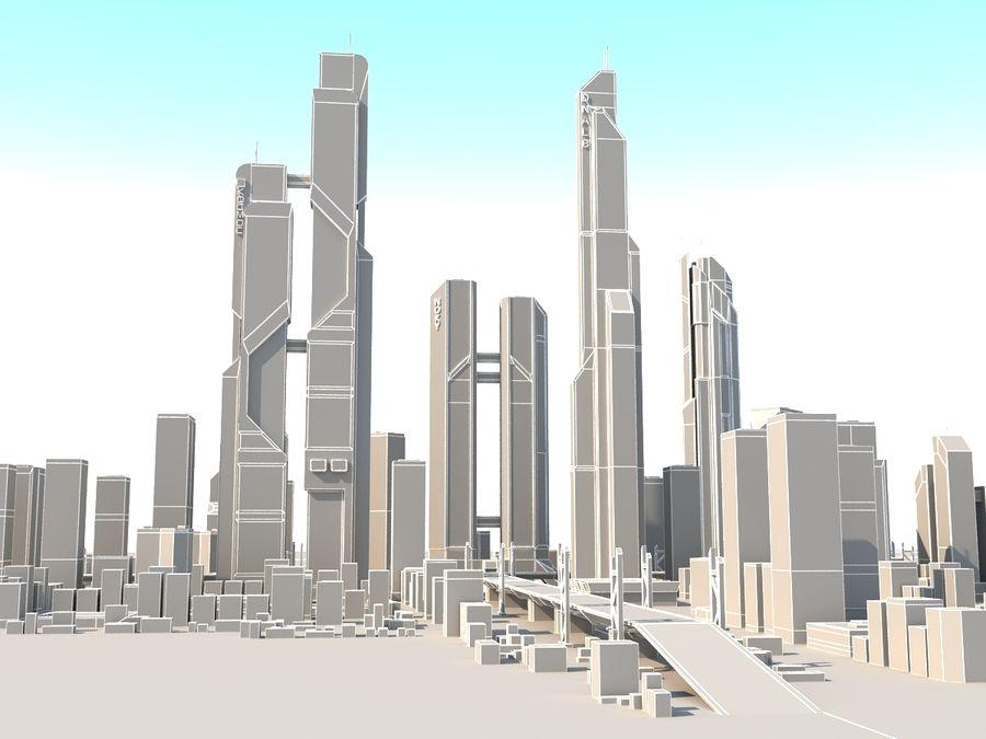 SC_CITY_01 royalty-free 3d model - Preview no. 16