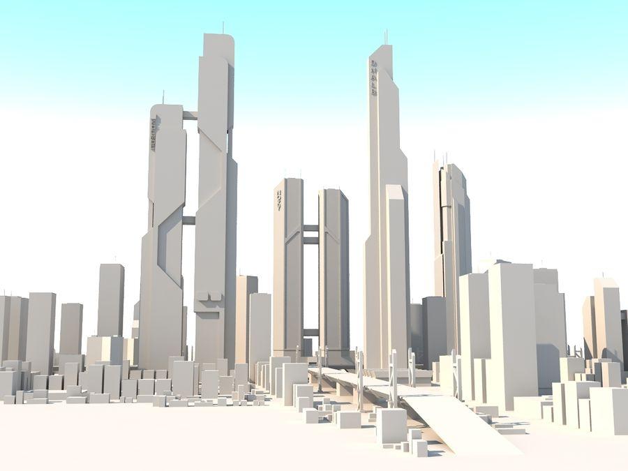 SC_CITY_01 royalty-free 3d model - Preview no. 9