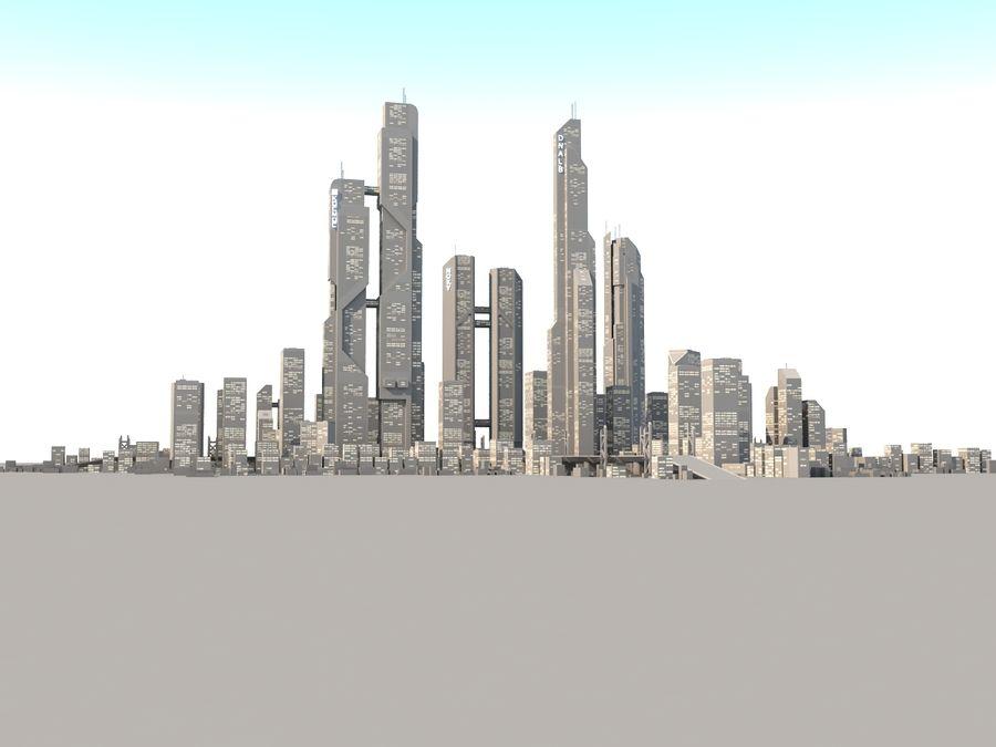 SC_CITY_01 royalty-free 3d model - Preview no. 2