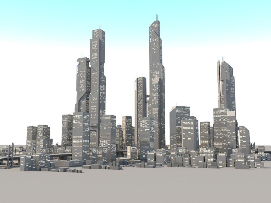 SC_CITY_01 royalty-free 3d model - Preview no. 3