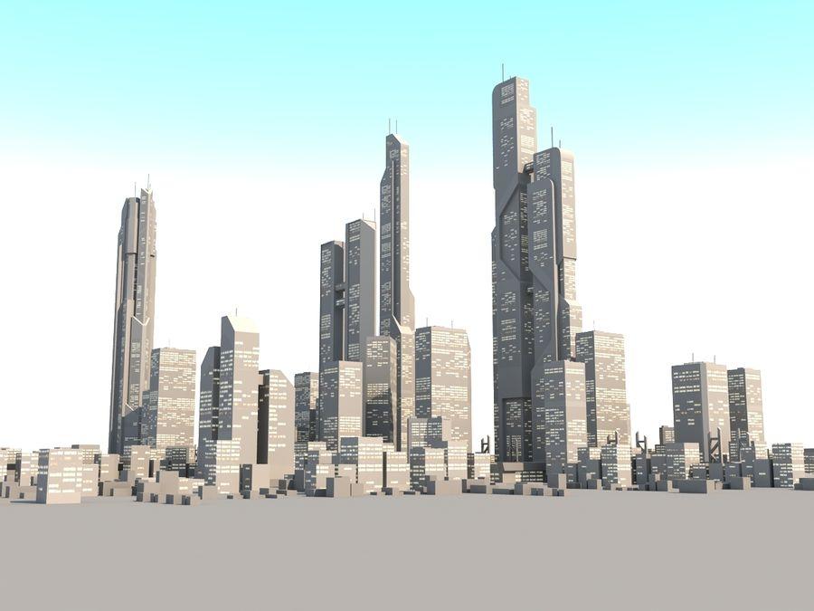 SC_CITY_01 royalty-free 3d model - Preview no. 5