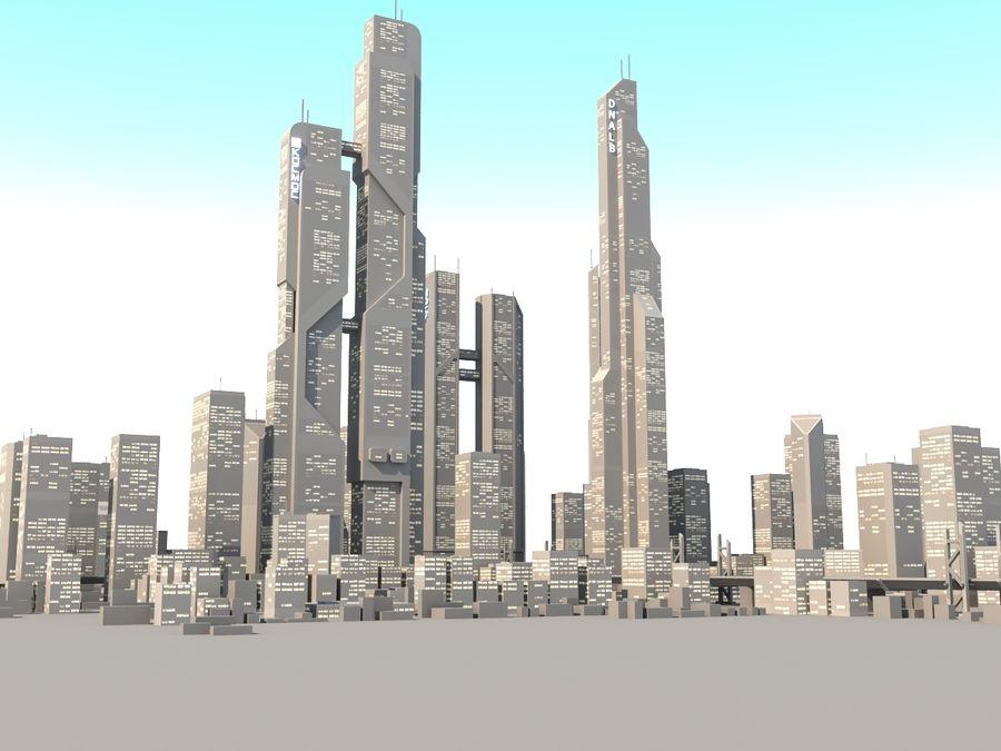 SC_CITY_01 royalty-free 3d model - Preview no. 7