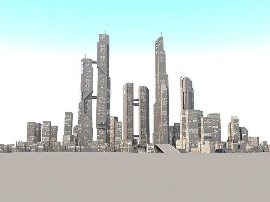 SC_CITY_01 royalty-free 3d model - Preview no. 1