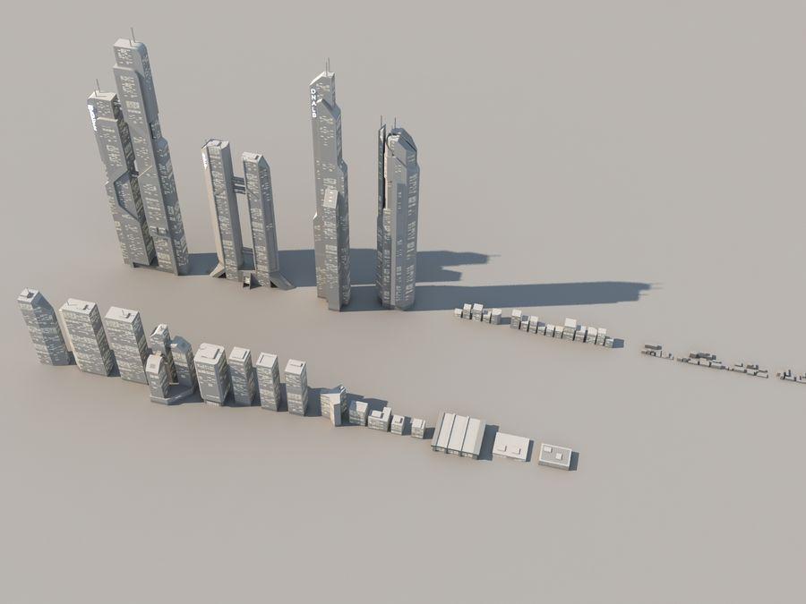 SC_CITY_01 royalty-free 3d model - Preview no. 14