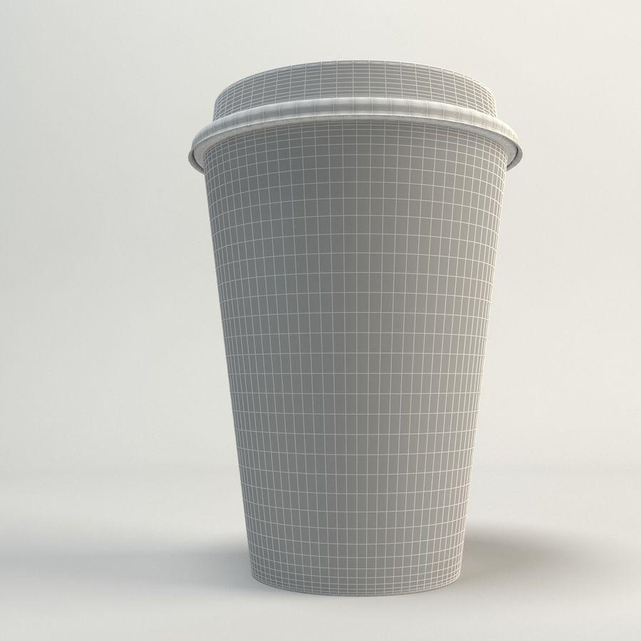コーヒーカップの空のテイクアウト royalty-free 3d model - Preview no. 12