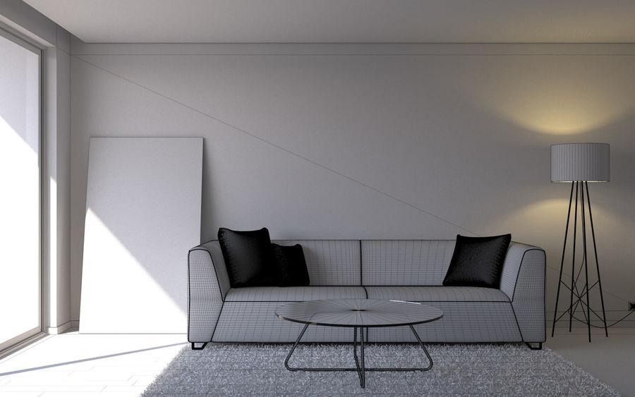 Oturma odası royalty-free 3d model - Preview no. 5
