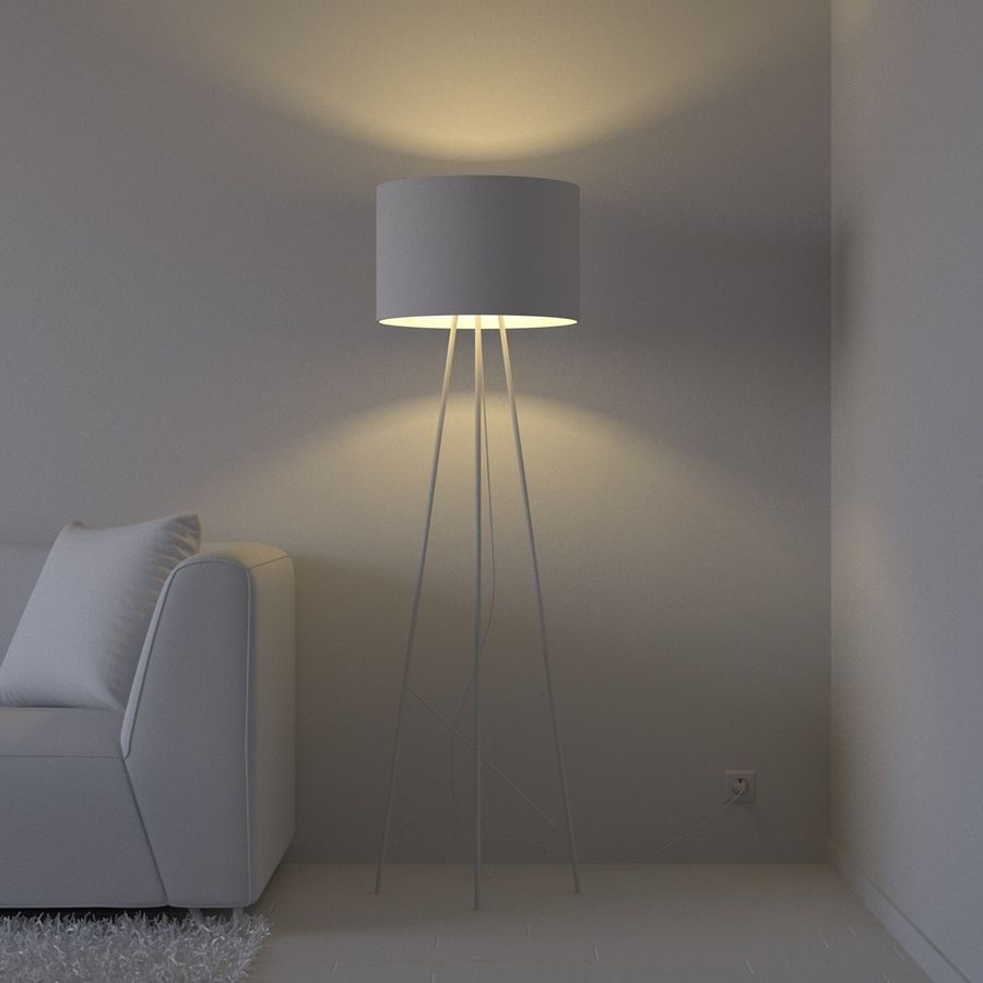 Oturma odası royalty-free 3d model - Preview no. 4