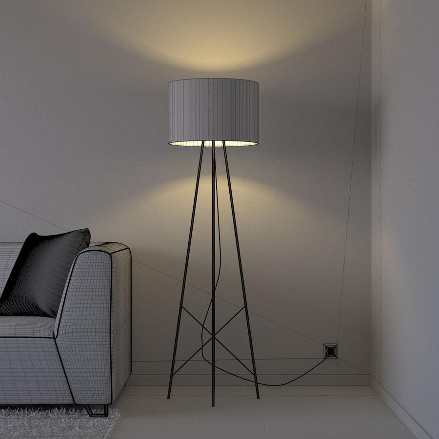 Oturma odası royalty-free 3d model - Preview no. 6
