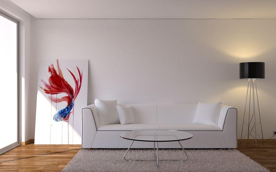 Oturma odası royalty-free 3d model - Preview no. 1