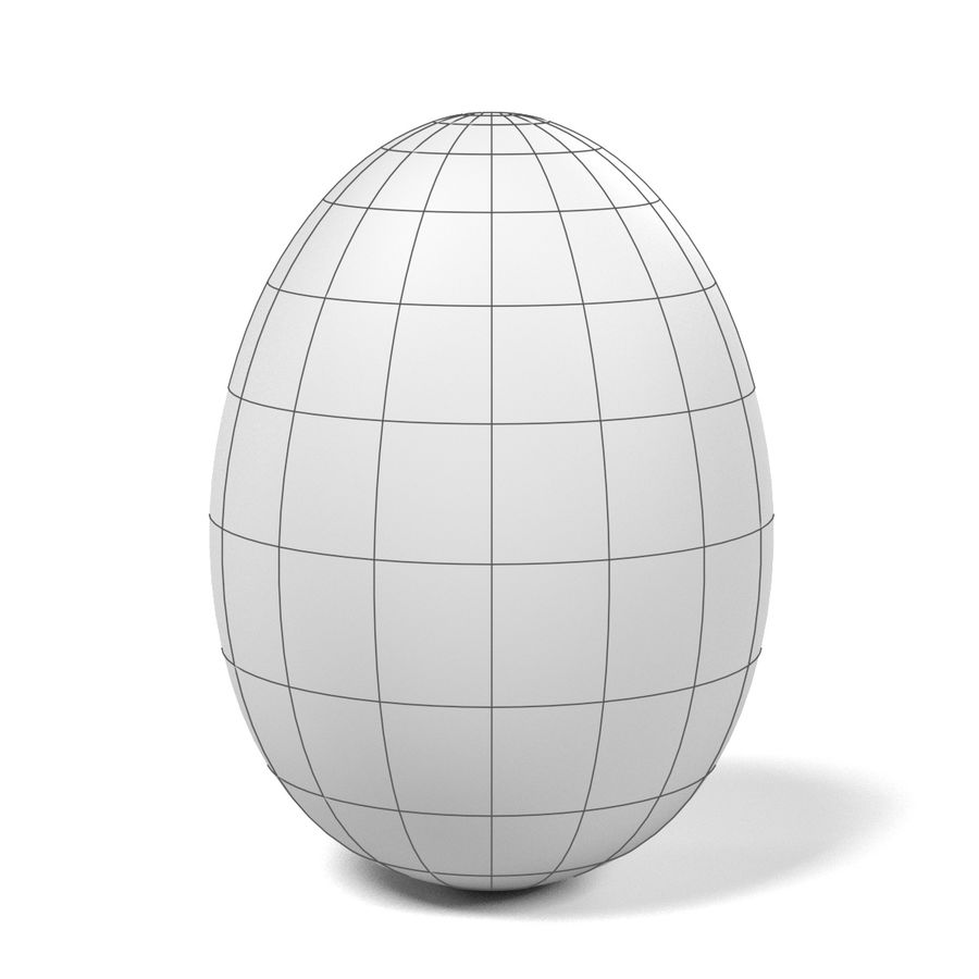 Egg royalty-free 3d model - Preview no. 7