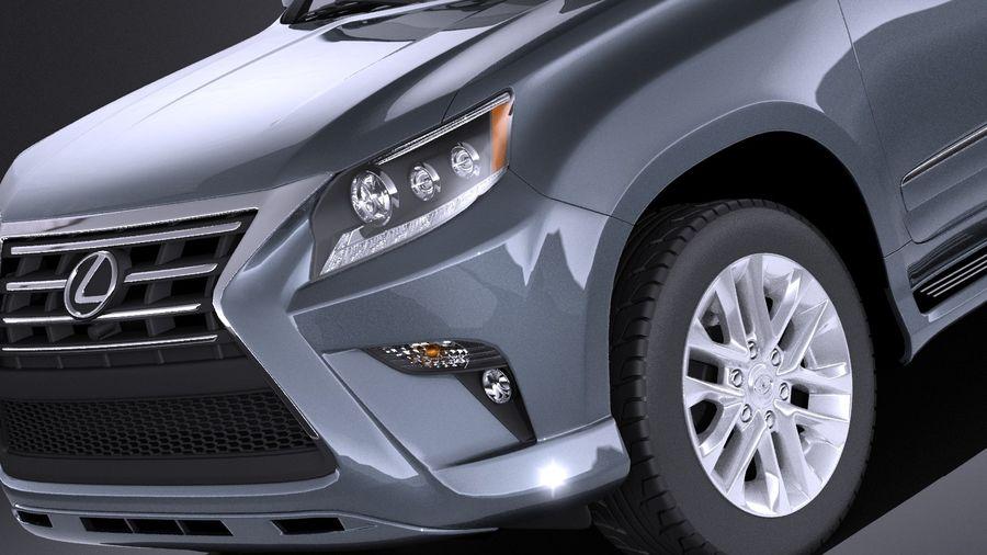 Lexus GX 460 2016 VRAY royalty-free 3d model - Preview no. 3