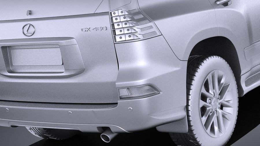 Lexus GX 460 2016 VRAY royalty-free 3d model - Preview no. 11