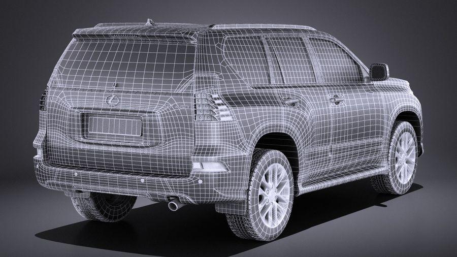 Lexus GX 460 2016 VRAY royalty-free 3d model - Preview no. 16